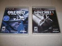 CALL OF DUTY (GHOSTS & BLACK OPS II) - 2 GAME BUNDLE SONY PLAYSTATION 3 GAME PS3