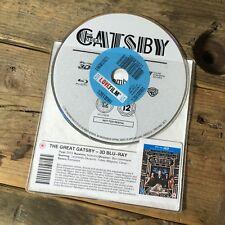The Great Gatsby (3D Blu-Ray) Leonardo DiCaprio - Romantic Drama - DISC ONLY