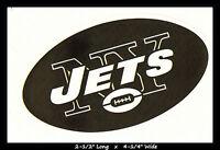 NEW YORK JETS FOOTBALL NFL TEAM LOGO DESIGN DECAL STICKER~BOGO 25% OFF