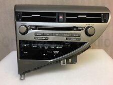 2012-2014 Lexus RX350 RX450H HDD 6 Disc Nav  SAT AUX USB Radio P10142 P10159