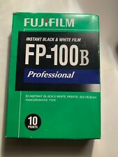 Fujifilm FP-100B 3.25 X 4.25 inch Black and White Professional Instant Film