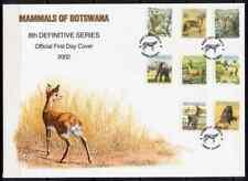 BOTSWANA 2002 - FDC ANIMALS / MAMMALS MNH