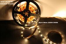 Marswalled High CRI RA 90 5m Smd2835 LED Strip Light 300leds Warm White Dc12v