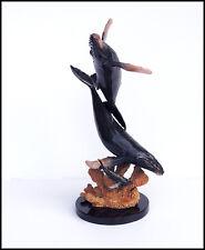 Robert Wyland Original BRONZE SCULPTURE Humpback Whale Life Signed Authentic Art