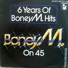 """7"""" 1981 MINT- ! BONEY M. : Little Drummer Boy + On 45"""