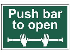 Scan - Push Bar To Open - PVC 300 x 200mm