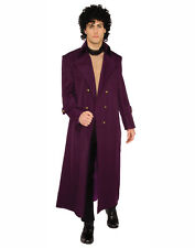 Rock Royalty Purple Mens Adult Prince Halloween Costume Jacket