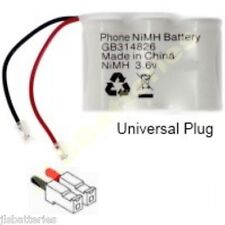 Replacement for GP Ni-Cd Battery GP30AAK3BMJ 3.6V 300mAh upgraded to 650mAh