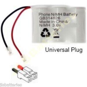04H 3.6v cordless phone Battery 650mAh BC101692