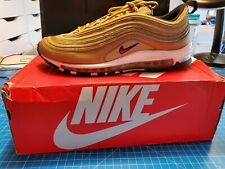 Nike Air Max 97 og qs Gold Taille 10 Boxed Bundle