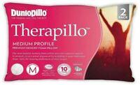 Dunlopillo-2 Pack Therapillo Medium Profile  Memory Foam Pillows