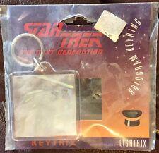 Star Trek The Next Generation Keyrix Hologram Keyring, 1994 by Lightrix, Romulan