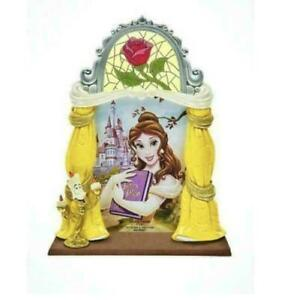 Disney Princess Beauty & The Beast Belle Picture Photo Frame 4x6 Stained Glass