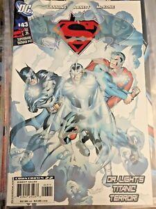 SUPERMAN BATMAN #43 DC COMICS 2007