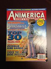FeB 2005 ANIMERICA anime and manga monthly magazine Nausicaa Valley Of The Winds