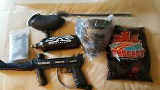 New listing Tippmann Paintball Marker/Gun Model 98 #1338069 w Hopper,Mask,Barrel Cover More