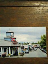 HISTORIC POULSBO WASHINGTON POST CARD MAIN STREET DOWNTOWN POULSBO WASHINGTON