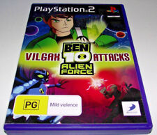 Ben 10 Alien force Vilgax Attacks PS2 PAL *Complete*