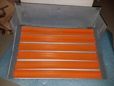 NYLINT #71 CIRCUS TRAILER ORANGE BLEACHERS PRESSED STEEL Vintage 1970's