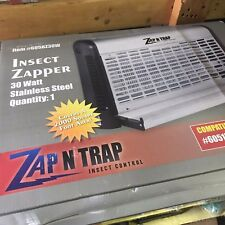 Zap N Trap 30W  Protects 2000 Sq Feet Bug Zapper Free Ship USA Only