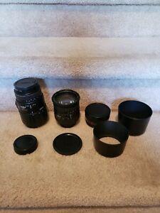 Camera Lens Lot  Vari, Sigma, Quantaray, Nikon Lens Cap