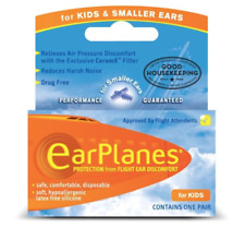 Flying EarPlanes for Kids - Protection From Flight Ear Pain - FREE UK P&P