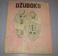 Pink Floyd Dzuboks No 34 Vintage Music Magazine Yugoslavia