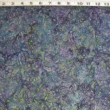 C1048B HOFFMAN Cotton Batik Print Sapphire G2223-230 by the Yard