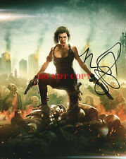 Milla Jovovich Resident Evil Signed Autograph 8x10 Photo