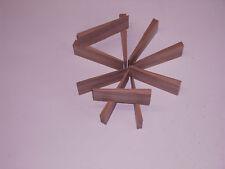 Holzkeile Hartholzkeile aus Eichenholz 10Stck Keile Hartholz Eiche massiv