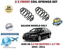 FOR AUDI A6 BERLINA 3.2 FSI QUATTRO 2.7 TDI 2004-2011 FRONT COIL SPRINGS SET
