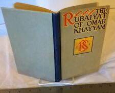 The Rubaiyat of Omar Khayyam - 1st Thus (1907 Hardcover)