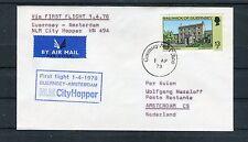 Erstflug Guernsey-Amsterdam NLM City Hopper HN 494 - b3147