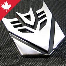 Transformer 3D Car Decal Emblem Decepticon Bad Megatron Bot Robot Symbol 9cm NEW