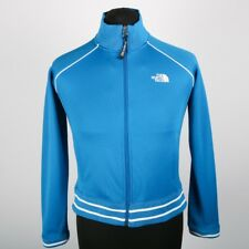 En muy buena condición The North Face Full Zip chaqueta azul | chicas L | Abrigo Retro