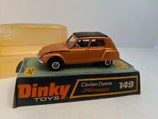 Dinky Toys 149 Citroen Dyane with Box. MINT 1971-1974
