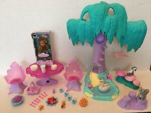 Barbie Swan Lake ENCHANTED FOREST PLAYSET