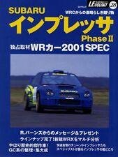 [BOOK] SUBARU IMPREZA Phase ll WRC 2001SPEC WRX Sti 22B S201 JGTC GC GF Japan