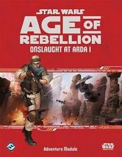 Star Wars Age of Rebellion RPG Onslaught at ARDA 1 Adventure Supplement