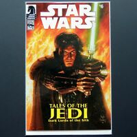 Star Wars Tales of the Jedi Dark Lords comic book #6 Comic Pack Variant #43 9.6