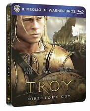 Troy (Blu-ray, SteelBook, Brad Pitt, Eric Bana, Sean Bean) RegionFREE