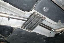 BMW 318D/320D Caja de centro de tubo de sustitución silenciador intermedio eliminar de-res Pipe