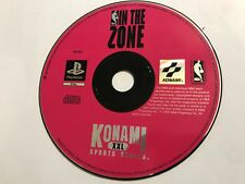 SONY PLAYSTATION 1 PS1 PSone GAME DISC ONLY IN THE ZONE By KONAMI PAL
