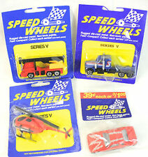 Lot of 4 Speed Wheels Vehicles