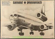 AIR CREW MOVIE POSTER 26.5 x37.75 Inch Polish 1980  Marek Ploza-Dolinski Artwork