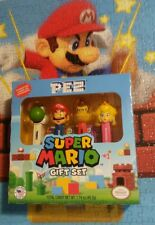 Nintendo Super Mario Pez Gift Set, Character Names on Stem New 2017
