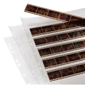 Hama Negativhüllen 2250 Pergamon 35mm Negativ Hüllen Ringordern Archivierung
