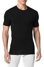 New Tommy John Undershirt Cotton Basics Crew T-Shirt Black Size L
