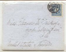 Japan En route Philippines Islands to Japan Mc Caskey LTR to wife 1902 Yokohama