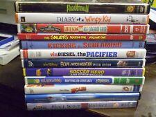 (13) Childrens Adventure DVD Lot: Disney Chuggington  Smurfs  Paranorman  Holes